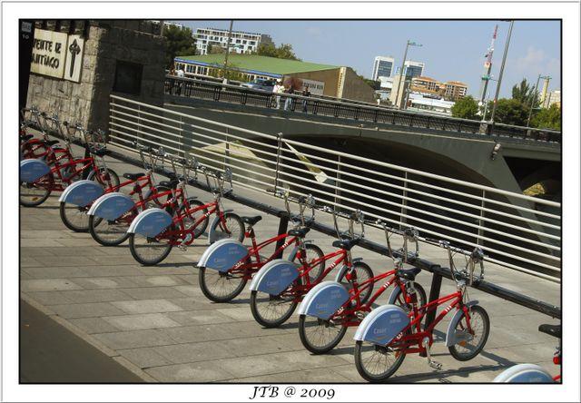 Bicylcles From Zaragoza Street
