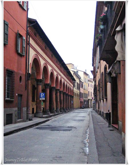Streets from Bologna