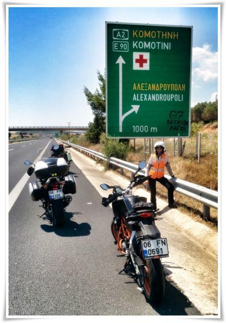 Alexandroupoli (Dedeağaç) ayırımında ben :)