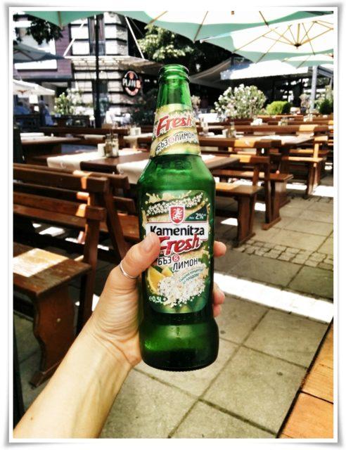 Kamenitza, Mürver çiçeği ve limon aromalı Bulgar birası
